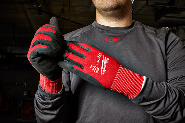 Milwaukee Tools adding cut-resistant, insulated gloves this